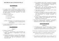 regimento do conselho fiscal - Associação de Futebol do Porto