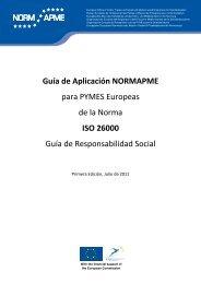 Guía de Aplicación NORMAPME para PYMES Europeas de la ...