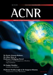 Print ACNR MJ05 v4 - Advances in Clinical Neuroscience and ...