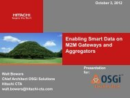 Enabling Smart Data on M2M Gateways and ... - EclipseCon