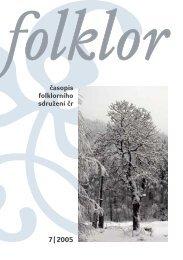 Stránky z časopisu 1-6 - Folklorní sdružení ČR