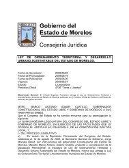 Ley de ordenamiento Territorial y Desarrollo Urbano Sustentable ...
