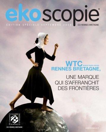 Télécharger l'édition spéciale EKOscopie 2009 (doc pdf) - CCI Rennes