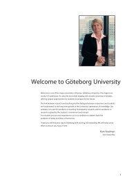 Welcome to Göteborg University - Utbildning, Göteborgs universitet