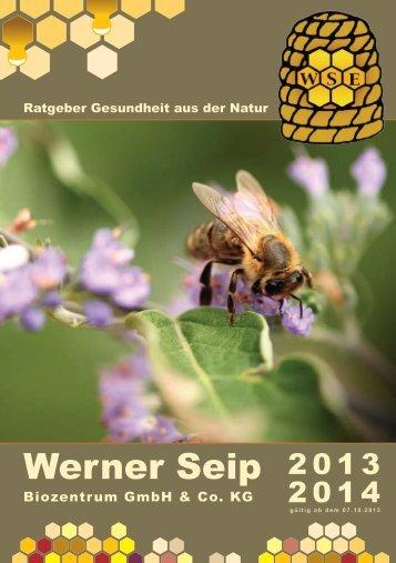 Gesundheit aus der Natur - Werner Seip