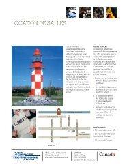 Survol des salles et aires d'exposition (PDF) - Musée des sciences ...