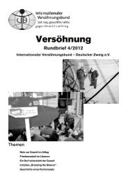 Rundbrief 4/2012 - Internationaler Versöhnungsbund