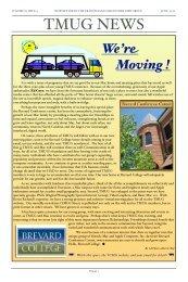 June 2008 TMUG News - Transylvania Mac Users Group