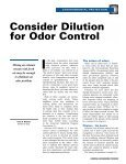 Consider Dilution for Odor Control - Pristine Water Solutions Inc. - Page 2