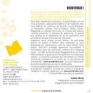 BIENVENUE ! - La Communauté d'agglomération du Grand Rodez