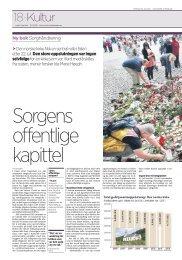 Sorgens offentlige kapittel - Stiftelsen Kirkeforskning KIFO