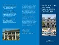 Residential Sound Insulation Program information - Philadelphia ...