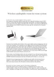 Wireless audiophile room-in-room system - Reference Audio