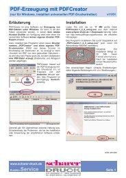 PDF-Erzeugung PDFCreator 1.2.0 v1101