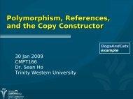 Polymorphism, virtual