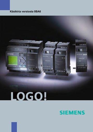 Käsikirja versiosta 0BA6 - Siemens