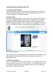 Technische Dokumentation PlanIT 3.0 - Rittal Internetserver