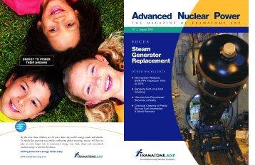 Advanced Nuclear Power - AREVA