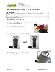 Procedura montaggio portatarga YAMAHA T-MAX 04-07