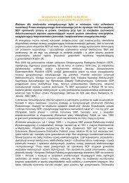 Gospodarka w roku 2009 na tle 90 lat Stowarzyszenia Elektryków ...