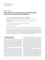 Innate immune activation and subversion of mammalian ... - Beverley