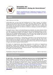 Newsletter - Seniortrainer und Seniortrainerinnen in Rheinland-Pfalz