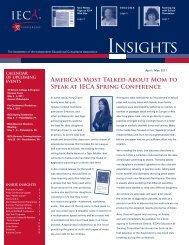 April / May - IECA
