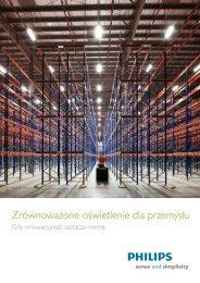 Zrównoważone oświetlenie dla przemysłu - Philips Lighting Poland