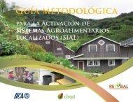 Guia Metodológica para la activación de Sistemas Agroalimentarios ...