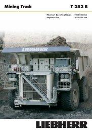 T 282 B Mining Truck