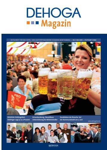 DEHOGA-Frühlingsfest: Oettinger sagt ja zu 7 Prozent ...