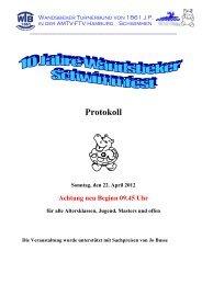 Protokoll - Hh-swim-info.de