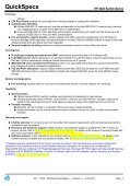 HP 2620 Switch Series - eD' system Czech, as - Page 3