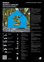Sentier culturel 1, Nations - Ville de Genève