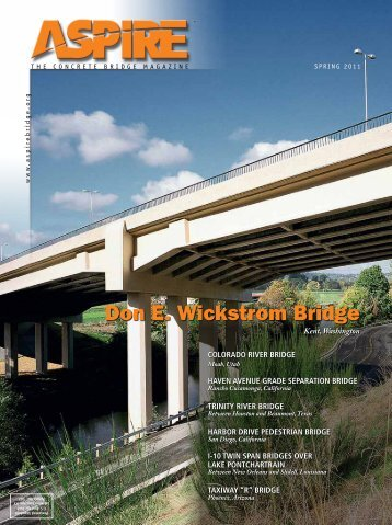 ASPIRE Spring 11 - Aspire - The Concrete Bridge Magazine