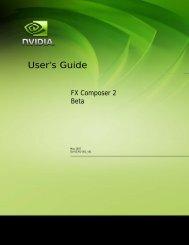 User's Guide - Nvidia