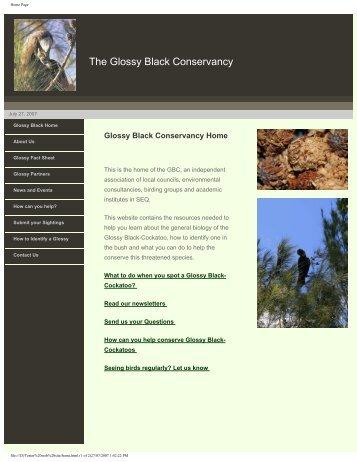 view website.pdf - Glossy Black Conservancy