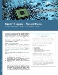 Maximo Upgrade Assessment - Total Resource Management