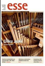 Esse 18/2012 (pdf) - Espoon seurakuntasanomat