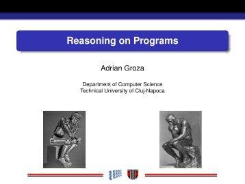 Reasoning on Programs