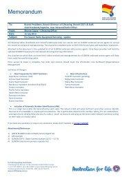 Memo: SLSNSW Pre-Season Radio Equipment Servicing - Update