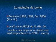Maladie de Lyme - ammppu