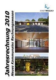Jahresrechnung Stadt Wiesloch 2010