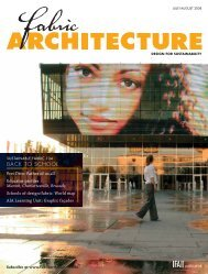 Fabric Architecture, July/August 2008, Digital Edition - Specialty ...