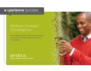 Amdocs Compact Convergence Brochure