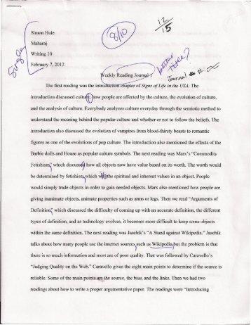 Library Reflection Journal Entry - WordPress – www.wordpress.com