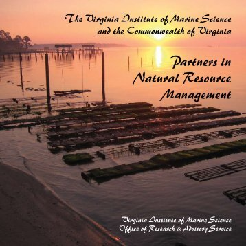 Partners in Natural Resource Management - Virginia Institute of ...