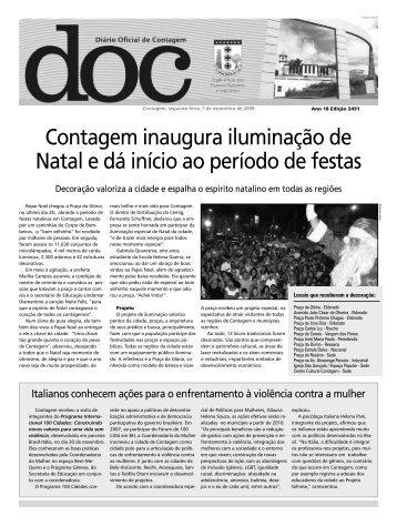 Diário Oficial Nº 2491 - Prefeitura de Contagem