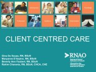 Client Centred Care PowerPoint Presentation - Long-Term Care ...
