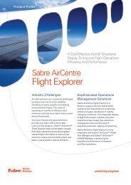 Flight Explorer - Sabre Airline Solutions